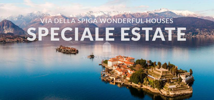 Speciale estate: le Wonderful Houses sul lago Maggiore