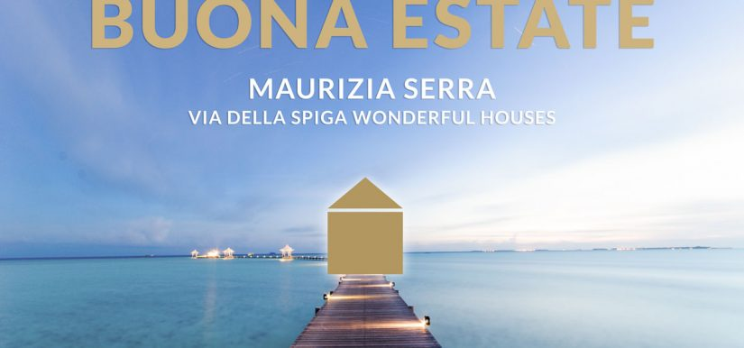 Maurizia Serra e il team Via della Spiga vi augurano una splendida estate!